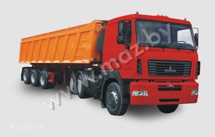 новий тягач МАЗ 6430 А8