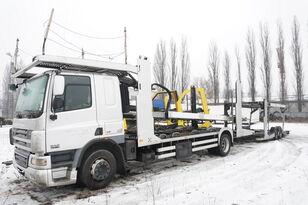 автовоз DAF CF 75 360 , E5 , 4x2 ,MEGA , LOHR , retarder , sleep cab + причіп автовоз