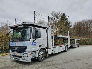 автовоз MERCEDES-BENZ Actros 1844 Austausch Motor ca 500000 + причіп автовоз