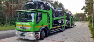 автовоз RENAULT Premium 410 + причіп автовоз