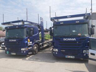 автовоз SCANIA P450 + причіп автовоз