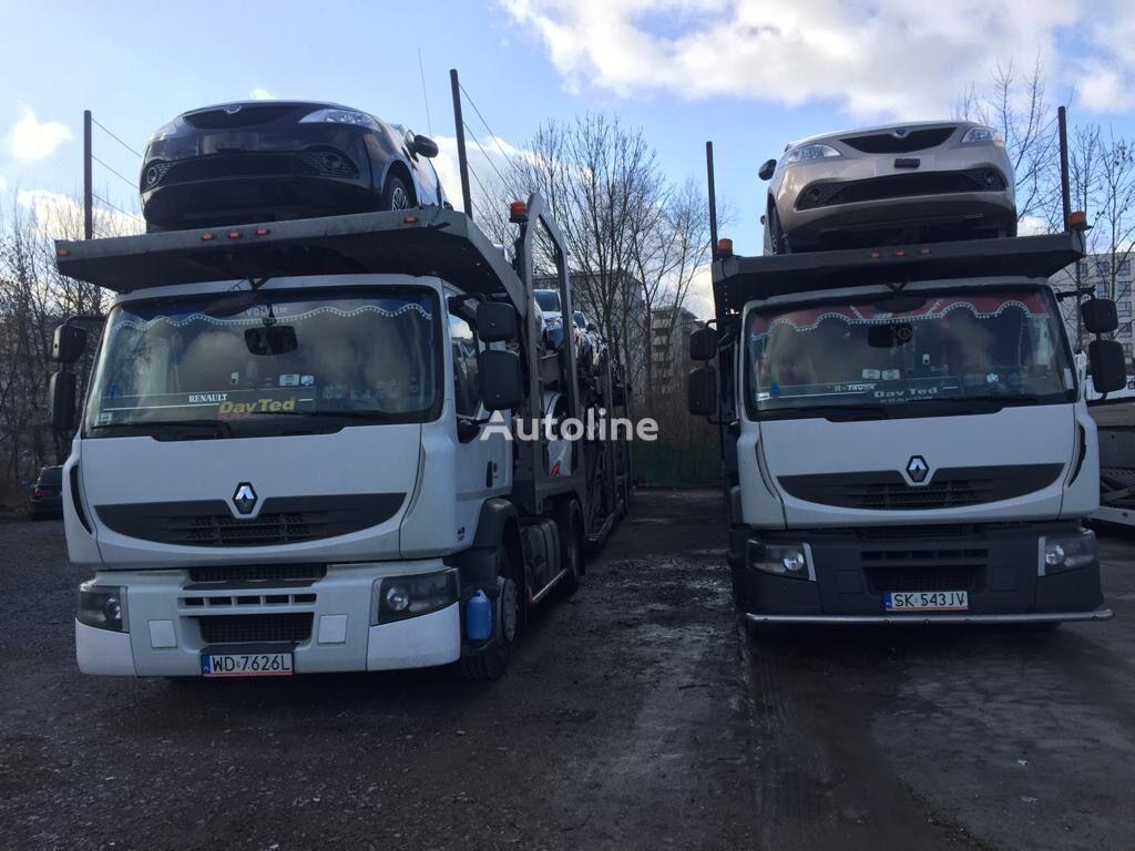 автовоз RENAULT Premium 460 EEV + причіп автовоз