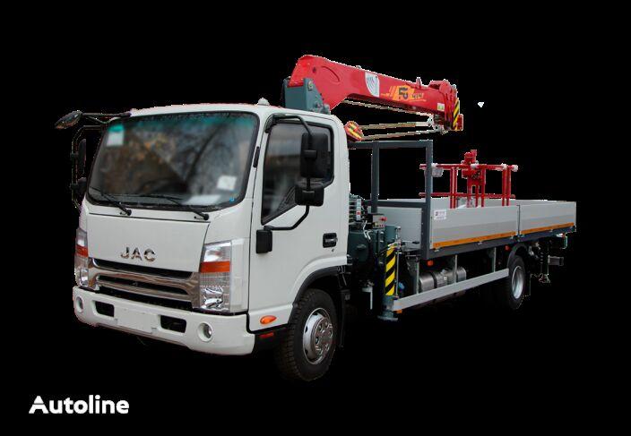 нова бортова вантажiвка JAC Бортовой автомобиль с КМУ FG-414