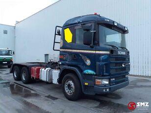 бортова вантажiвка SCANIA 144 530 6x4 lames/meca