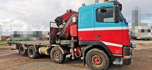 бортова вантажiвка VOLVO FH12 460 8x2 *manual *Fassi 660XP + jib