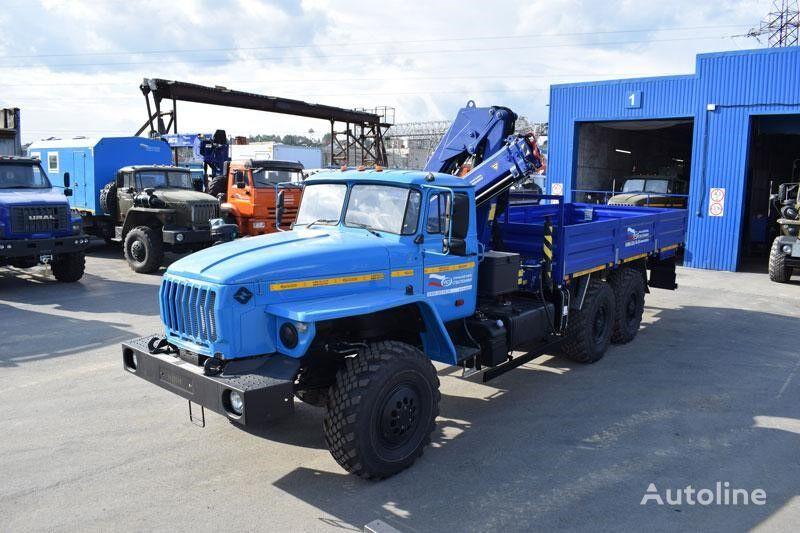 нова бортова вантажiвка УРАЛ Бортовой автомобиль Урал 4320 с г/м АНТ-7,5-2