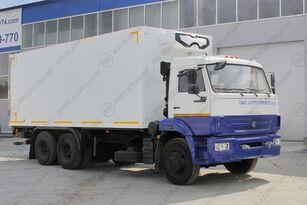 нова ізотермічна вантажiвка КАМАЗ 65115-3094-19 с ХОУ и гидробортом