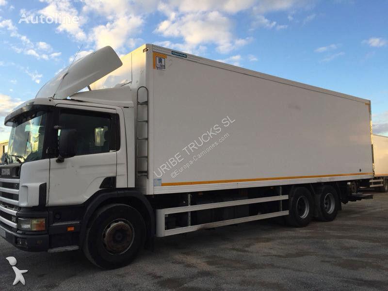 ізотермічна вантажiвка SCANIA C