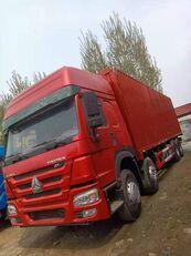 контейнеровоз HOWO 8X4 Box Truck Box Van