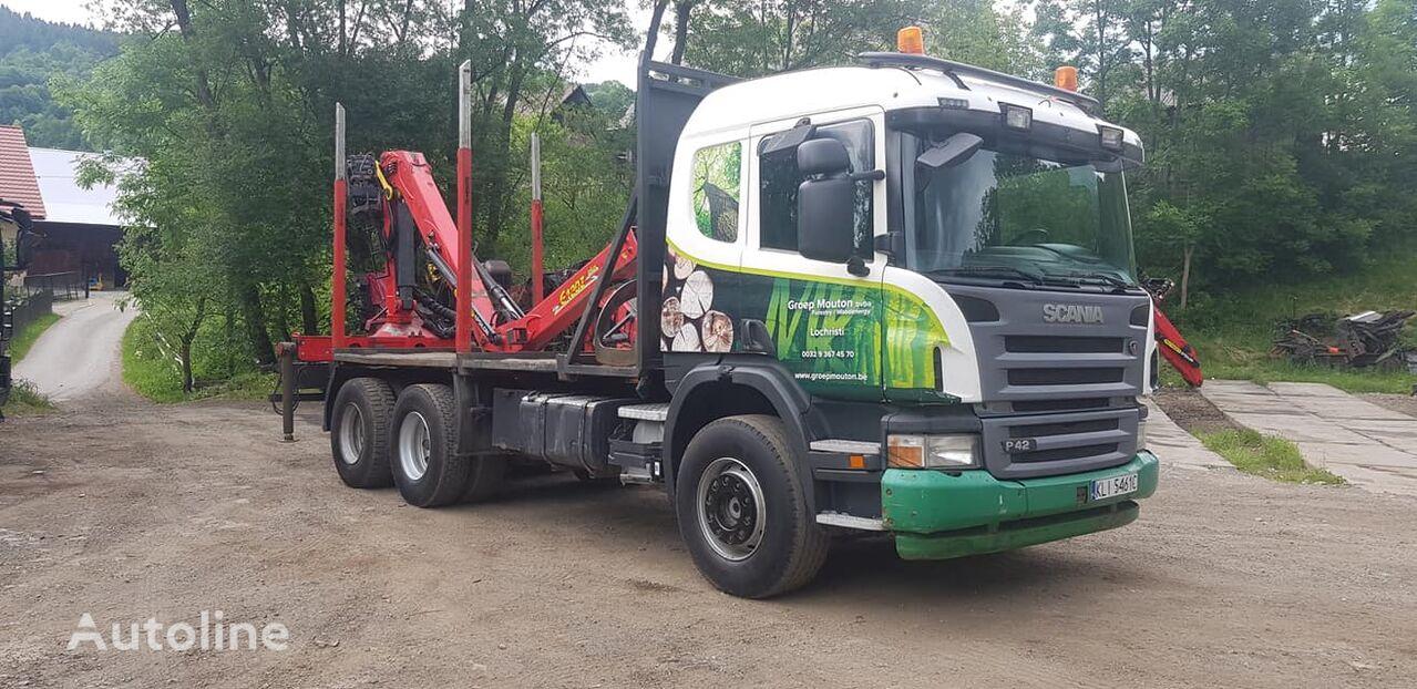 лісовоз SCANIA P420 6x4