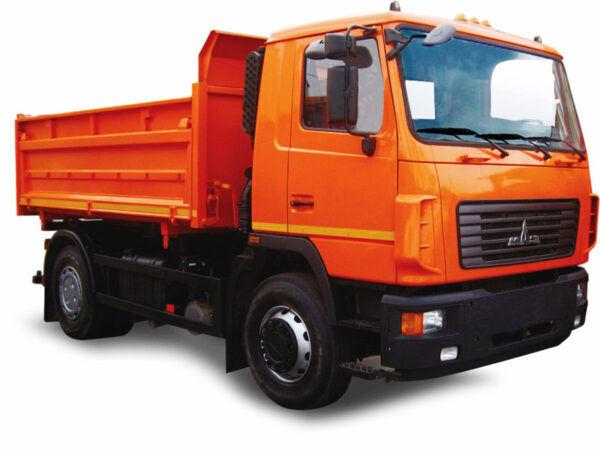 новий самоскид МАЗ 5550C3