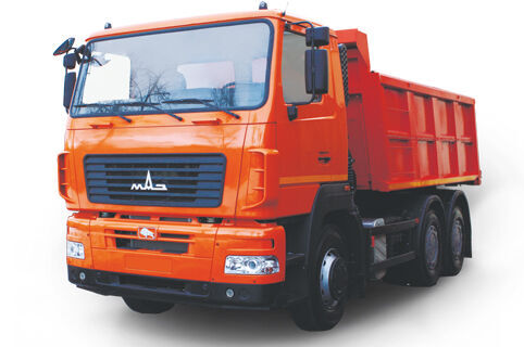 новий самоскид МАЗ 6501C5