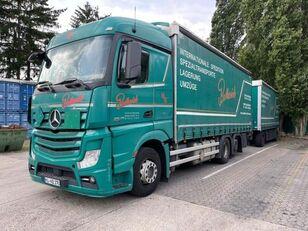 тентована вантажiвка MERCEDES-BENZ 2545 L 6X2 ACTROS / EURO 6