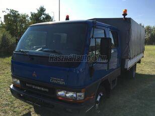 тентована вантажiвка MITSUBISHI CANTER DOKA P+P 4m-es platóval