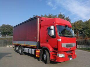тентована вантажiвка RENAULT PREMIUM 450.260 6X2 EURO 5, TELONATO 7 METRI + GANCIO TRAINO