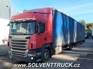 тентована вантажiвка SCANIA R400,Euro 5, Automat + причіп тентований