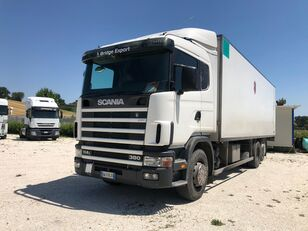 торгова вантажівка SCANIA R114 380 motrice 3 assi
