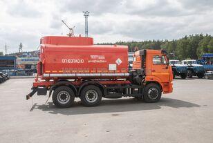 нова вантажівка автоцистерна КАМАЗ АЦ - 17 с насосом на шасси Камаз 65115-50