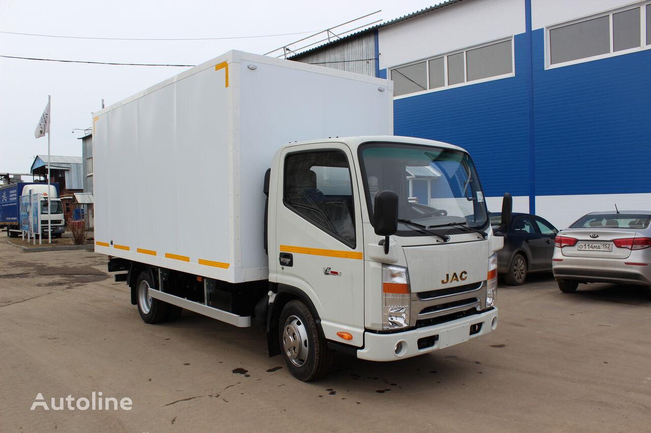 нова вантажівка фургон JAC Промтоварный автофургон (европромка) на шасси JAC N56