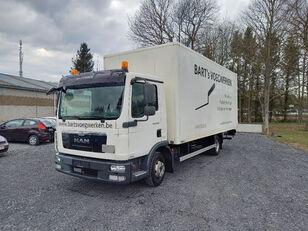 вантажівка фургон MAN TGL 8.180 taillift/hayon - euro 5 - very good tyres