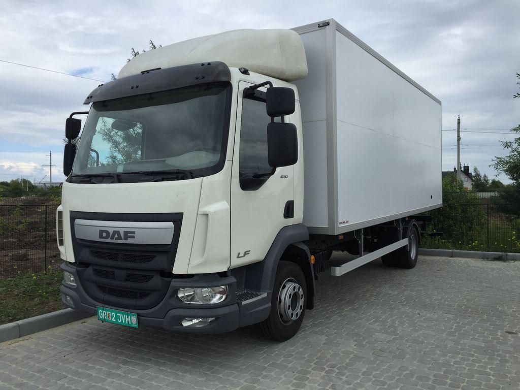 нова вантажівка фургон DAF LF