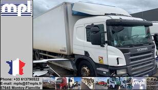 вантажівка рефрижератор SCANIA P340 після аварії