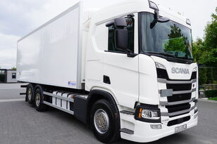 вантажівка рефрижератор SCANIA SCANIA R500, Euro 6, 6x2, 19 EPAL refrigerator , lifting axle, N