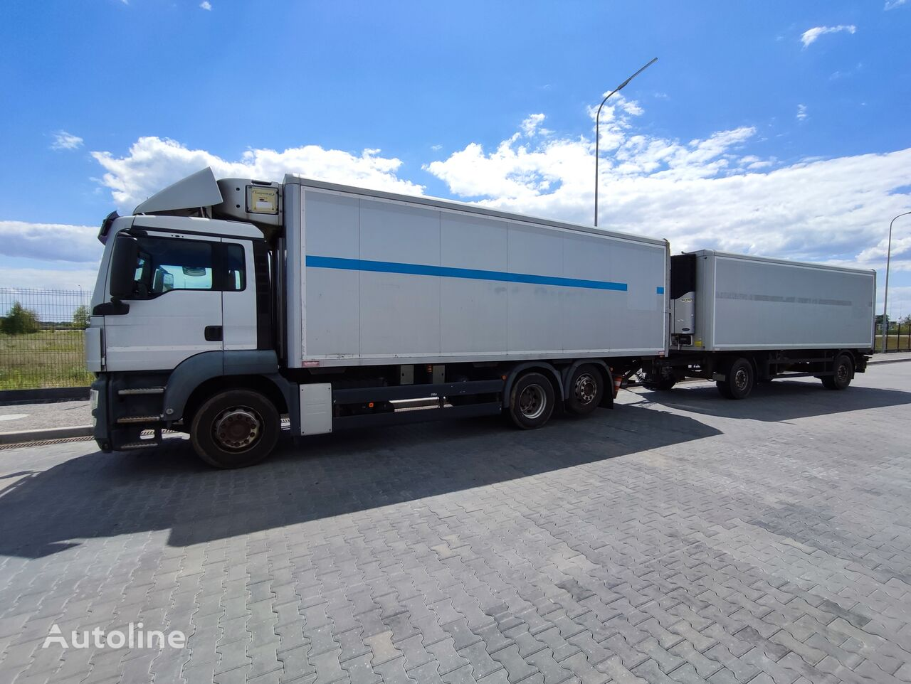 вантажівка рефрижератор MAN TGS TGS 26 320 + причіп