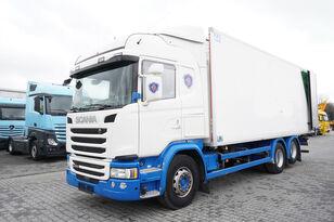 вантажівка рефрижератор SCANIA G490, Meat hooks , 19 EPAL
