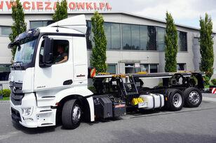 вантажівка шасі MERCEDES-BENZ Antos 2543 E6 6x2 BDF / Wilhelm Wellmeyer
