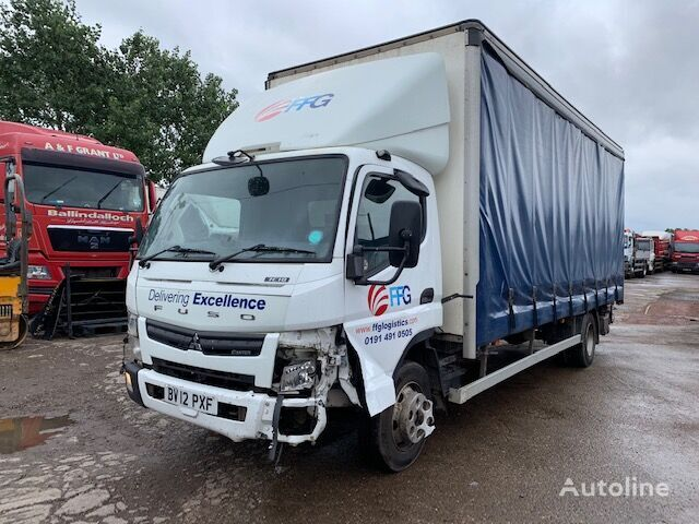 вантажівка шторна MITSUBISHI FUSO 7.5T 2012 BREAKING FOR SPARES за запчастинами
