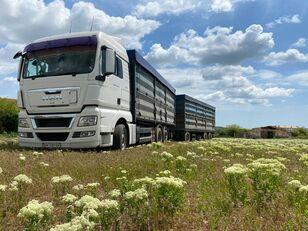 вантажівка зерновоз MAN TGA 26.440 + причіп зерновоз
