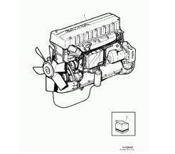 двигун Despiece Motor Volvo FH 12 FH 12/420 (1639429) до тягача VOLVO FH 12 FH 12/420