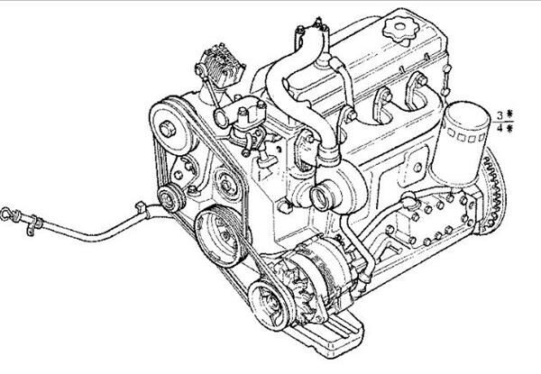 двигун Motor Completo Iveco EuroCargo Chasis     (Typ 75 E 12) [3,9 Ltr (4834959) до вантажівки IVECO EuroCargo Chasis (Typ 75 E 12) [3,9 Ltr. - 85 kW Diesel]