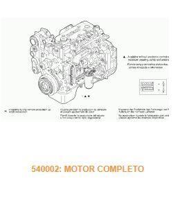 двигун Motor Completo Iveco EuroCargo tector Chasis     (Modelo 75 E 15 (504017970) до вантажівки IVECO EuroCargo tector Chasis (Modelo 75 E 15) [3,9 Ltr. - 110 kW Diesel]