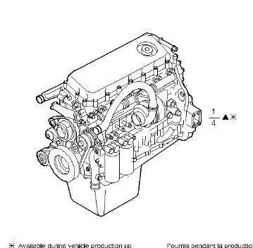 двигун Motor Completo Iveco EuroStar               (LD) LD440E46T (504036577) до тягача IVECO EuroStar (LD) LD440E46T