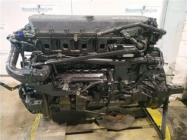 двигун Motor Completo Iveco EuroTech              (MP) FSA     (440 E 4 (5801371174) до вантажівки IVECO EuroTech (MP) FSA (440 E 43) [10,3 Ltr. - 316 kW Diesel]