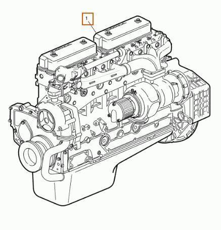 двигун Motor Completo Volvo FL  611 FG  611-220  162 KW Interc. E3 [5,5 (1638566) до вантажівки VOLVO FL 611 FG 611-220 162 KW Interc. E3 [5,5 Ltr. - 162 kW Diesel]