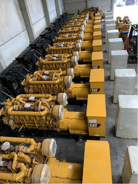 новий двигун CATERPILLAR CAT 3516B diesel generator set 2000 kVA new до навантажувача CATERPILLAR 3516B diesel genset