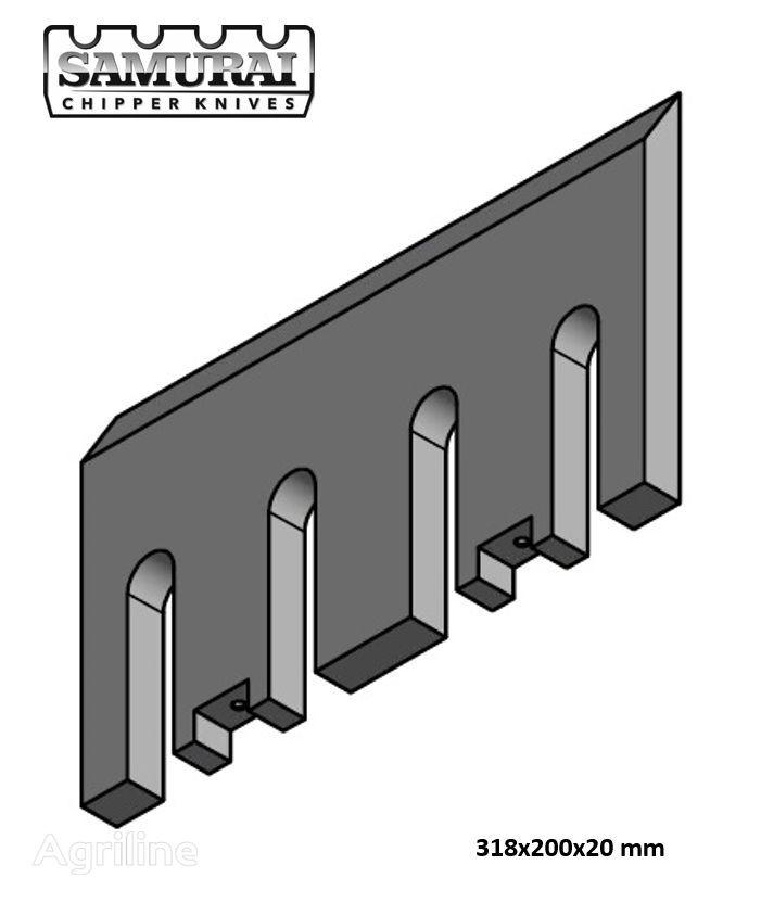 новий ніж до подрібнювачі деревини DUTCH DRAGON, Axsel, Dutch Dragon EC 10045, EC 10045, Dutch Dragon EC9045, AX6545L, AX10045