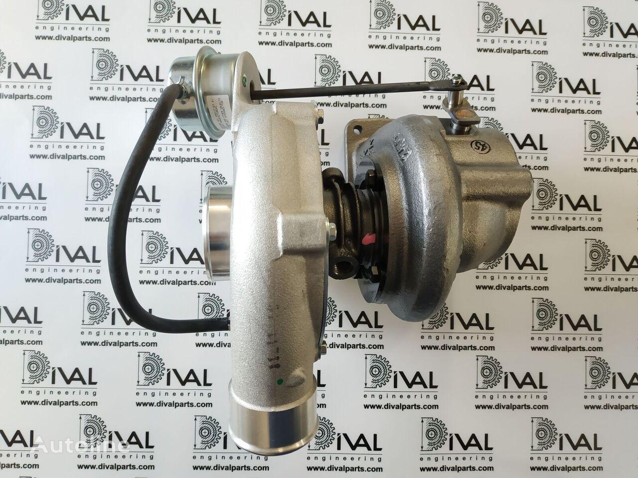 новий турбокомпресор двигуна JCB Англия до навантажувача JCB 530/70, 531/70, 540/70, 541/70, 535/95, 533/105, 535/125, 540/140, 540/170, 3CX